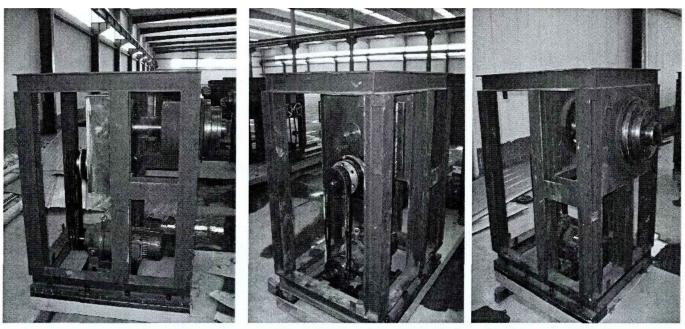 卧式自动绕线机主轴箱各组件的特点